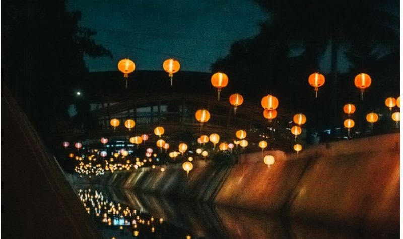 luces chinas